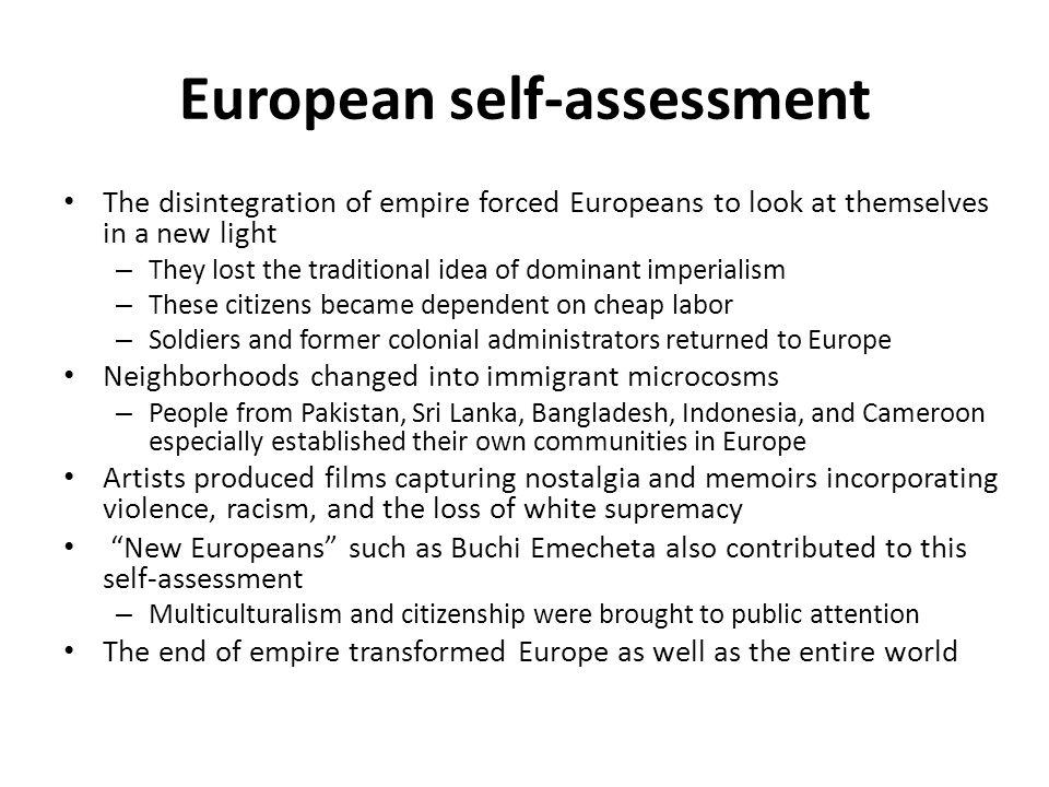 European self-assessment