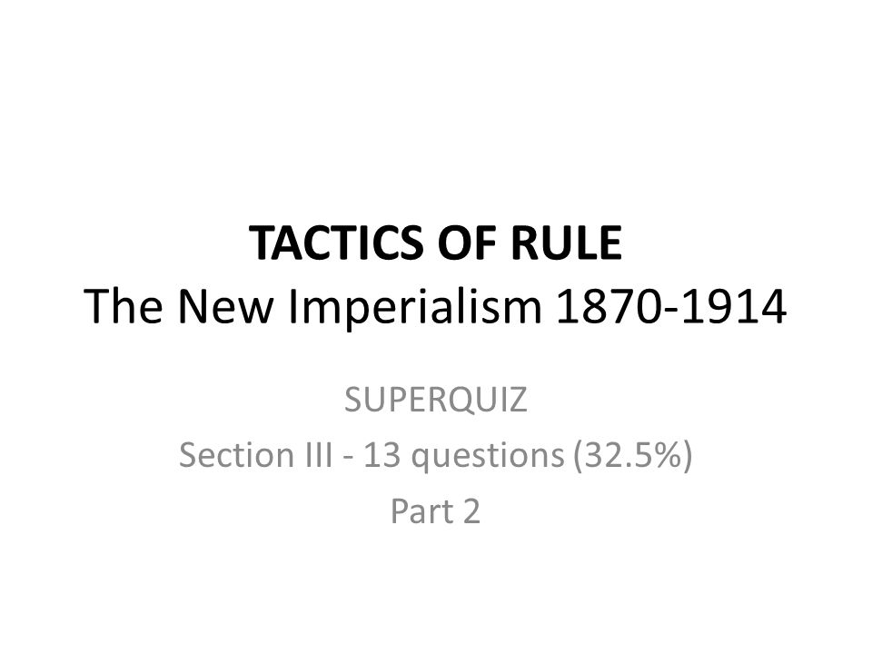 "new imperialism essay questions Essay : the masks of new imperialism tremendously_ "" possibly such a clash, was apprehended by the former un secretary general when he warned that if the wto failed to accommodate, within its ambit, the interests of the developing nations, the latter would question and thus end the whole process."