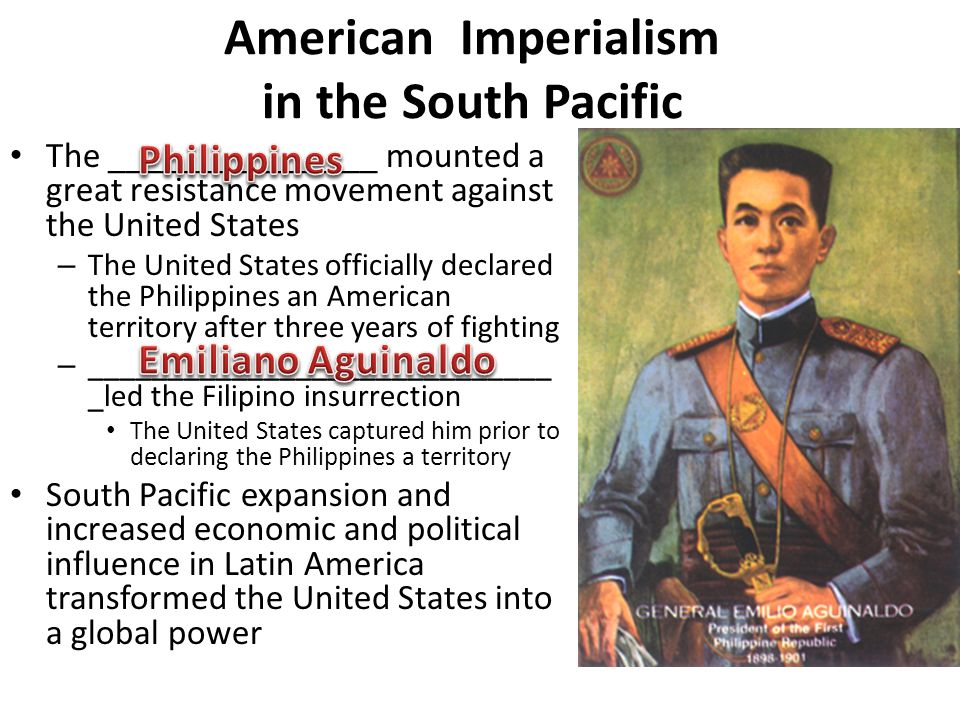 American Imperialism in the South Pacific