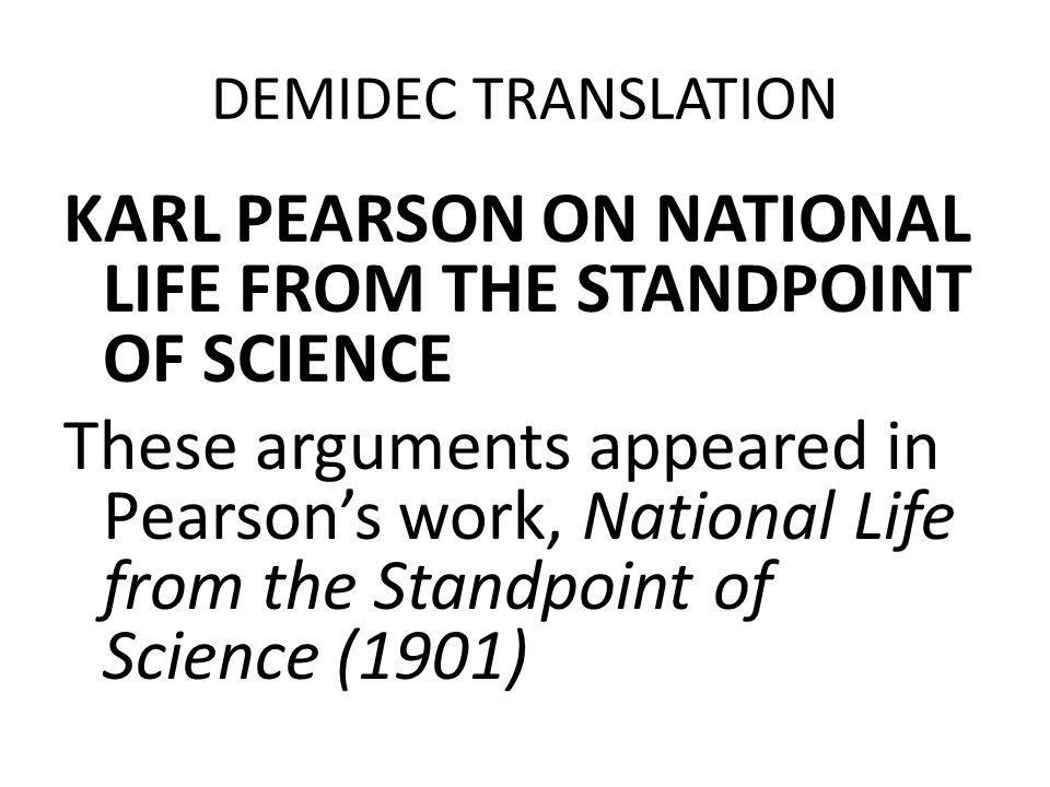 DEMIDEC TRANSLATION