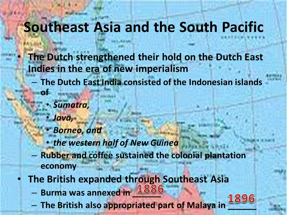 Southeast Asia and the South Pacific