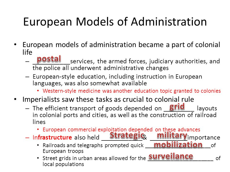 European Models of Administration