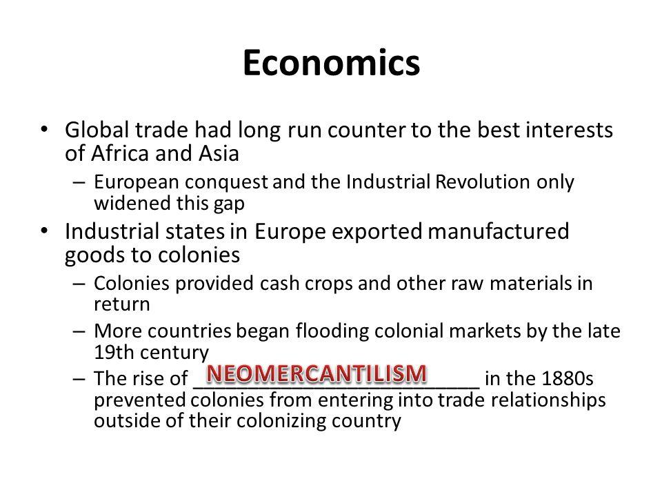 Economics NEOMERCANTILISM