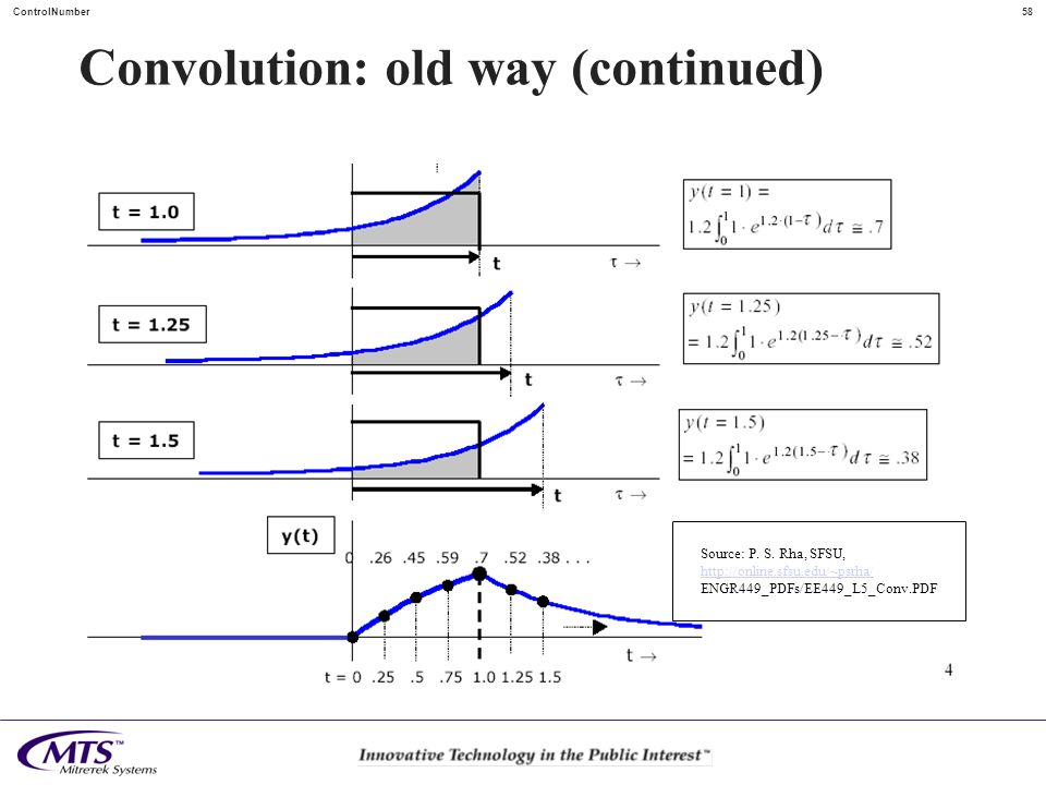 Convolution: old way (continued)
