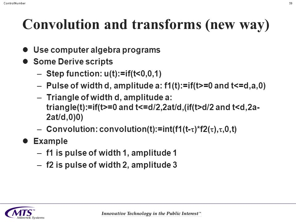Convolution and transforms (new way)