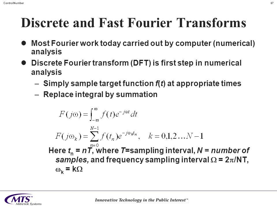 Discrete and Fast Fourier Transforms