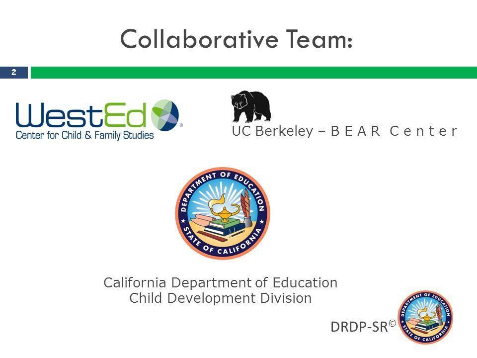 California Department of Education Child Development Division