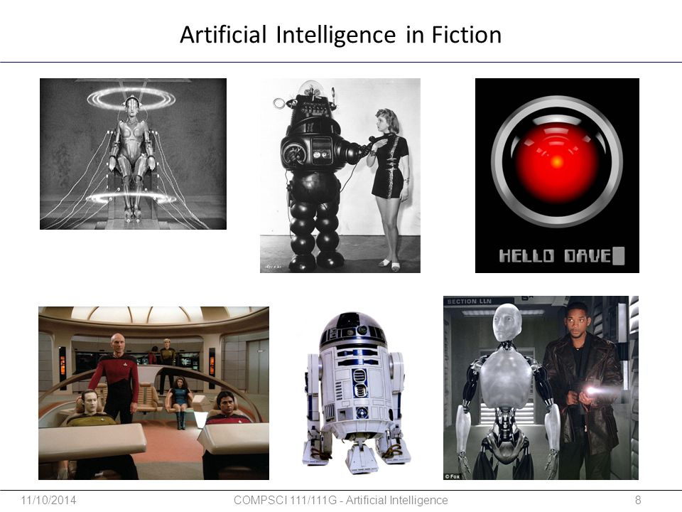 Artificial Intelligence in Fiction
