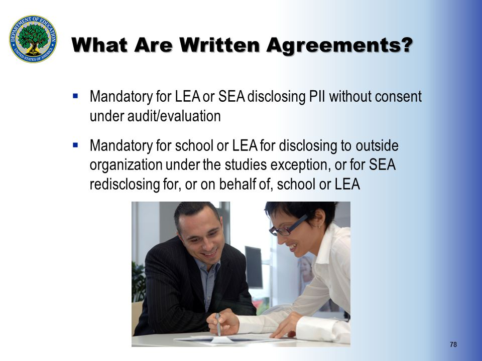 What Are Written Agreements