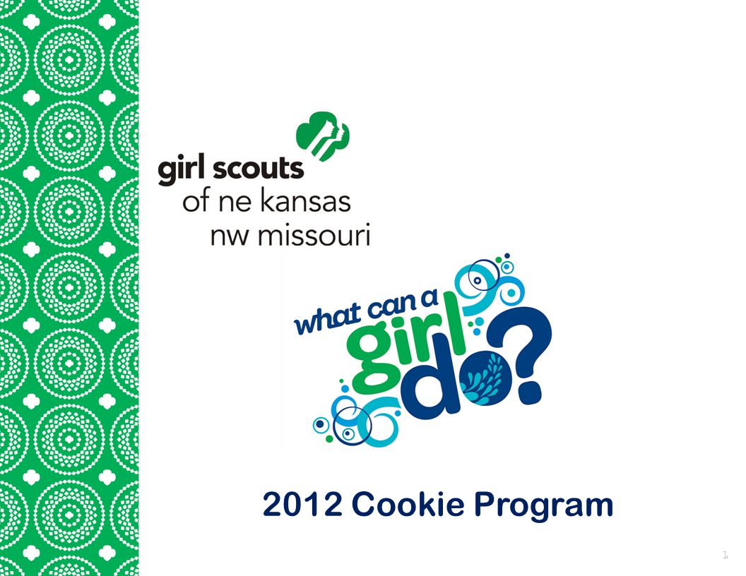 2012 Cookie Program