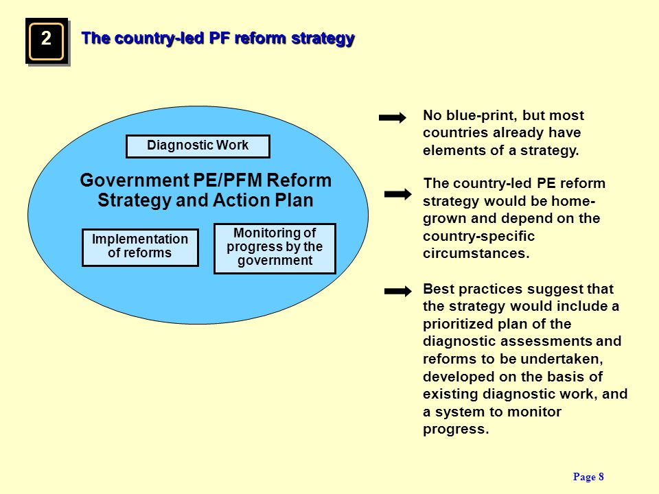 2 Government PE/PFM Reform Strategy and Action Plan