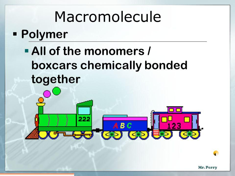 Macromolecule Polymer