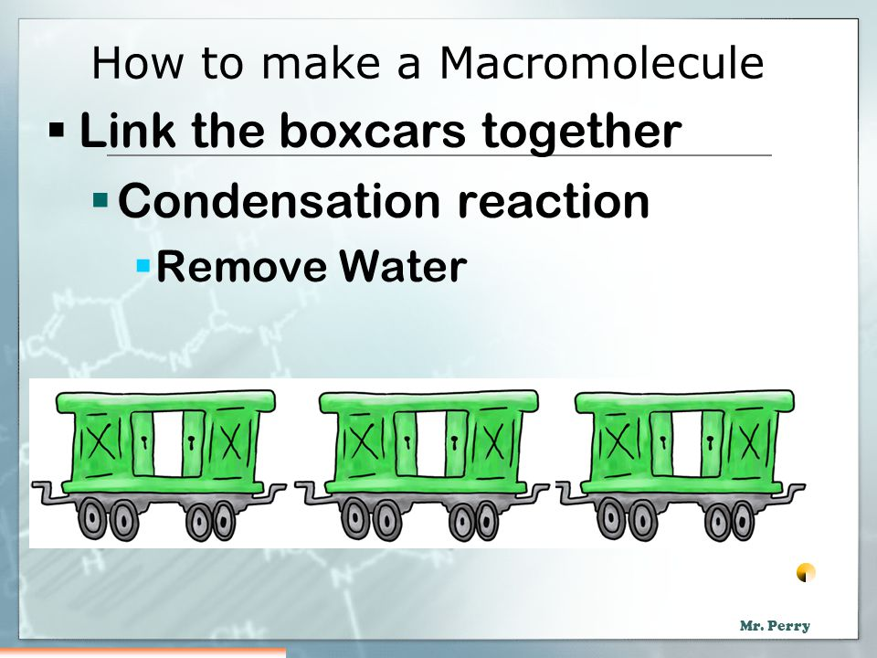 How to make a Macromolecule