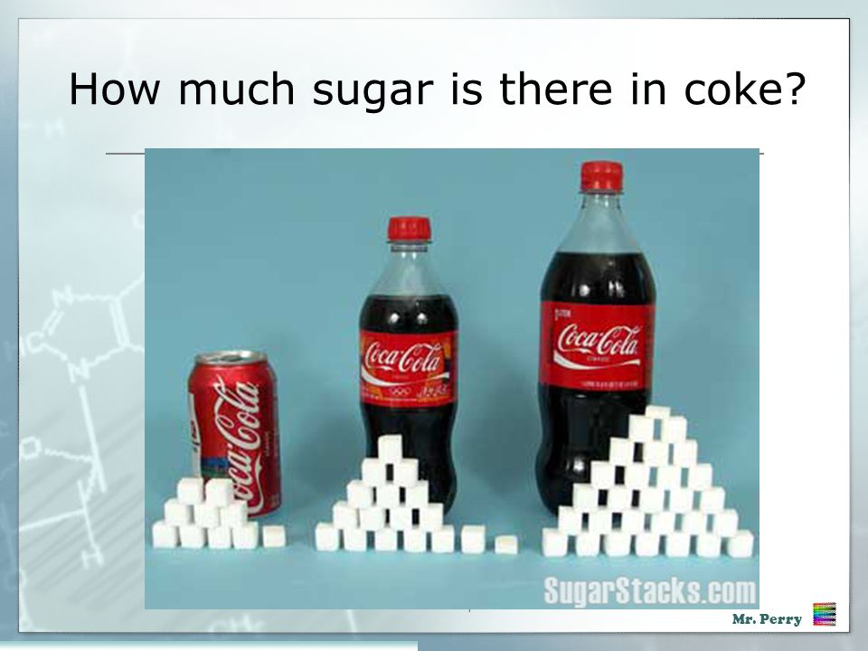 How much sugar is there in coke