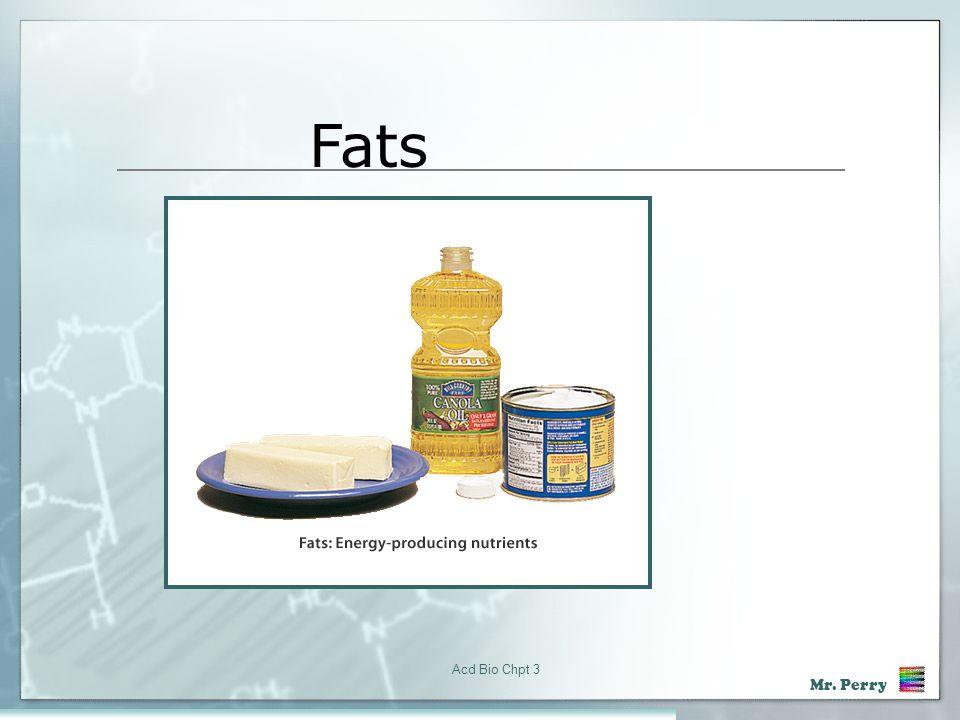 Fats Acd Bio Chpt 3