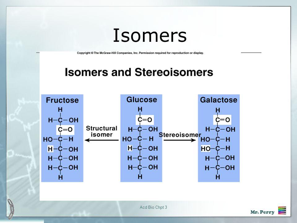 Isomers Acd Bio Chpt 3