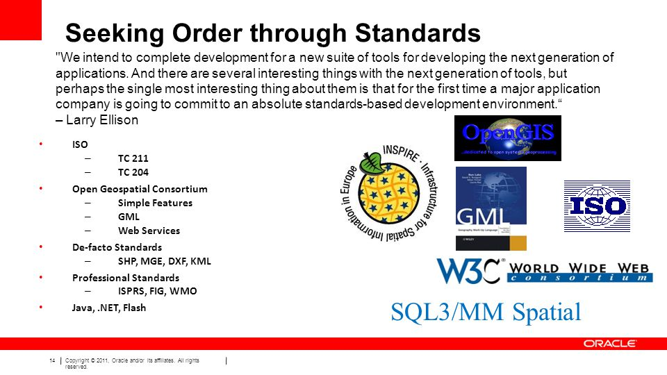 Seeking Order through Standards