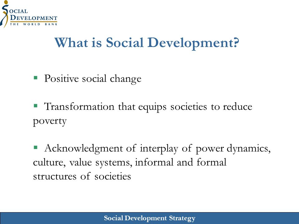 What is Social Development
