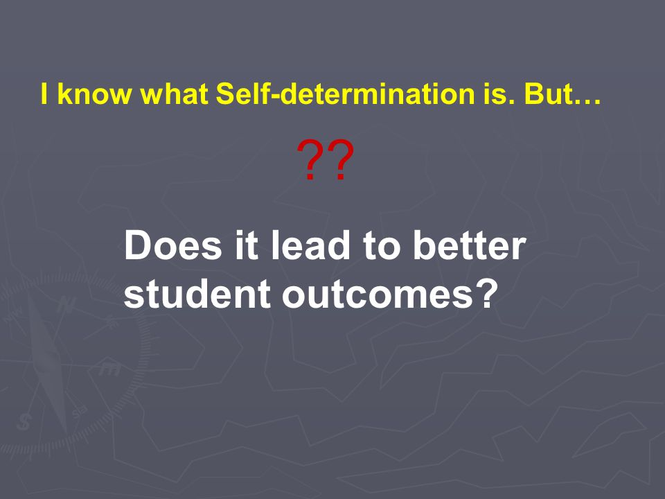 Does it lead to better student outcomes