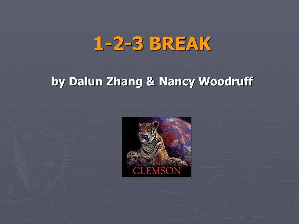 1-2-3 BREAK by Dalun Zhang & Nancy Woodruff