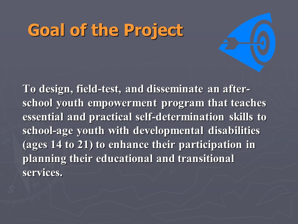 Goal of the Project