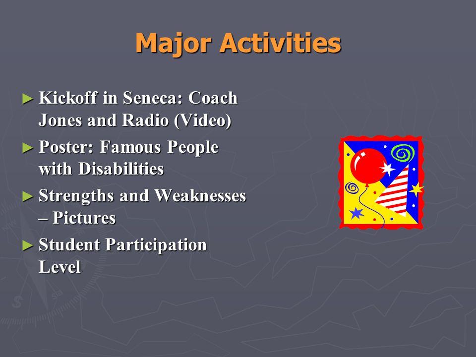 Major Activities Kickoff in Seneca: Coach Jones and Radio (Video)
