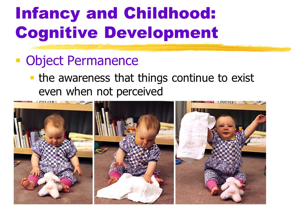 Infancy and Childhood: Cognitive Development