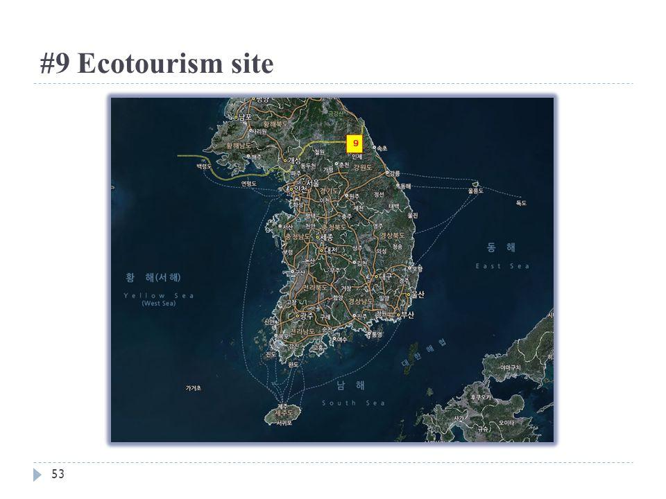 #9 Ecotourism site 9 53