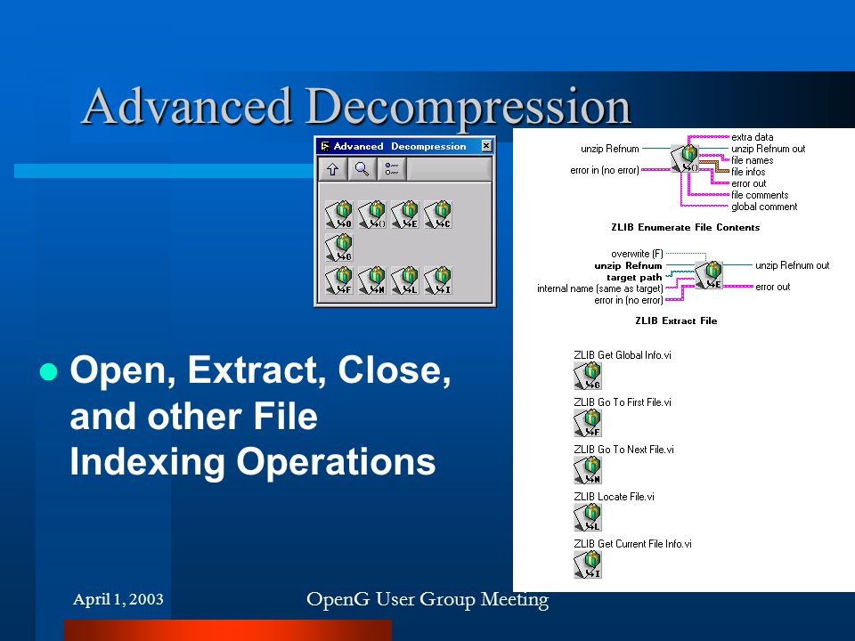 Advanced Decompression