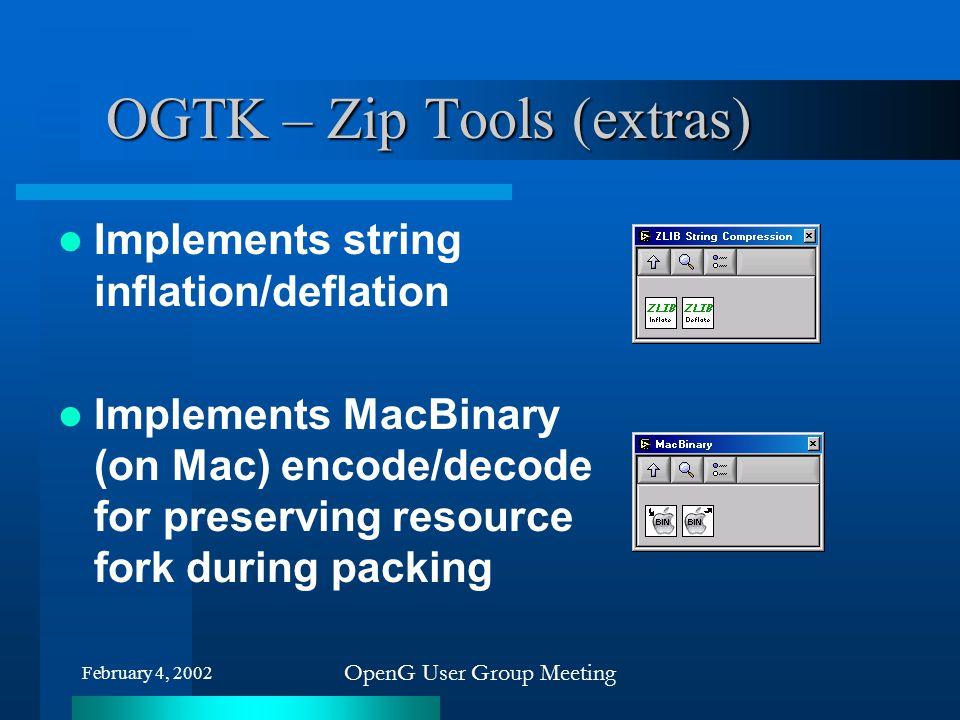 OGTK – Zip Tools (extras)