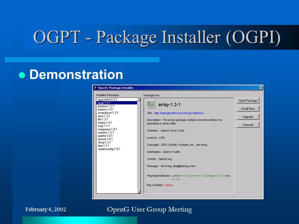 OGPT - Package Installer (OGPI)