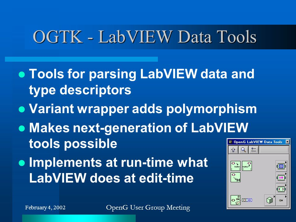 OGTK - LabVIEW Data Tools
