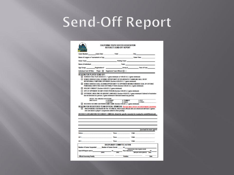 Send-Off Report