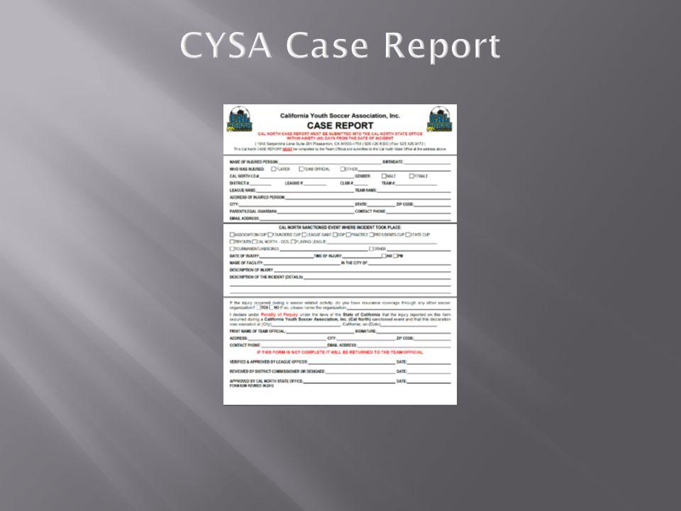 CYSA Case Report