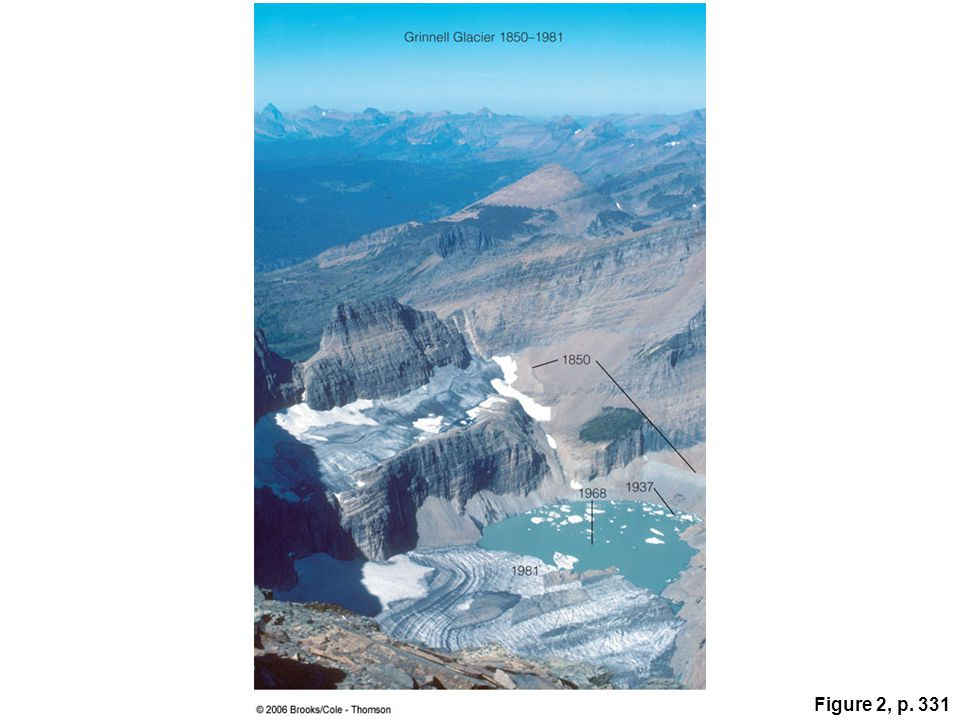 Figure 2: Grinnell Glacier in Glacier National Park