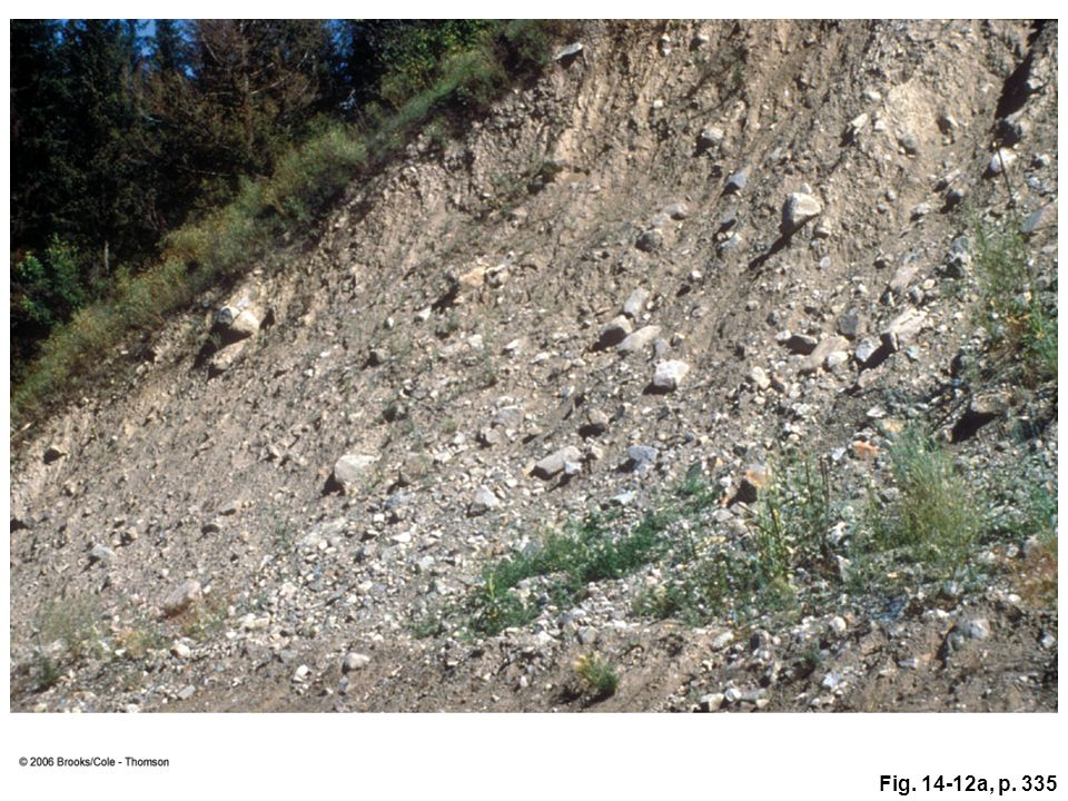 Figure 14. 12a: Glacial till in northern Washington State