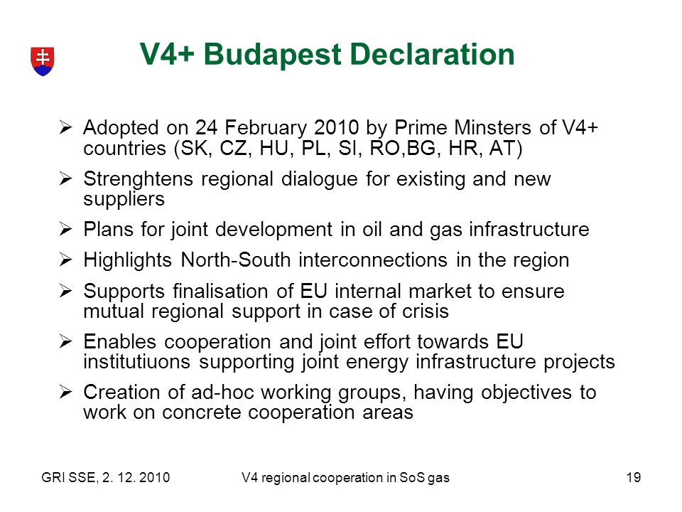 V4+ Budapest Declaration