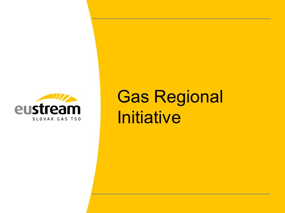 Gas Regional Initiative