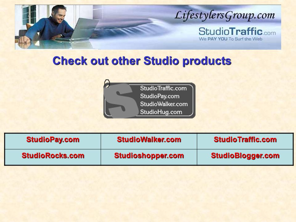 Check out other Studio products