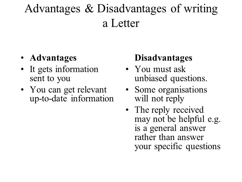 The advantages and disadvantages of Relative Dating Methods
