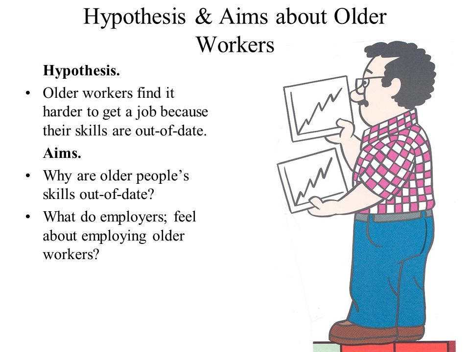 Hypothesis & Aims about Older Workers