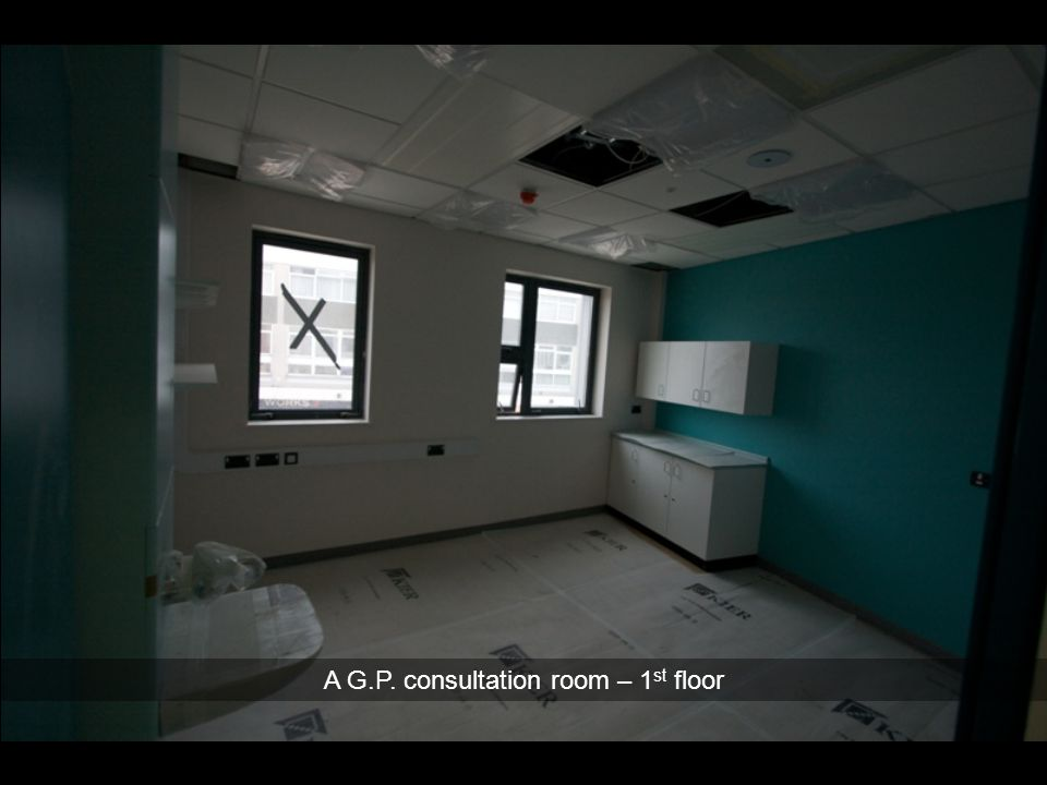 A G.P. consultation room – 1st floor