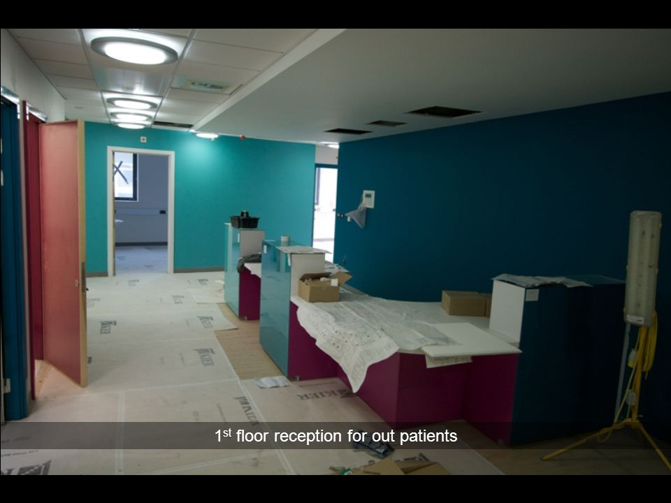 1st floor reception for out patients