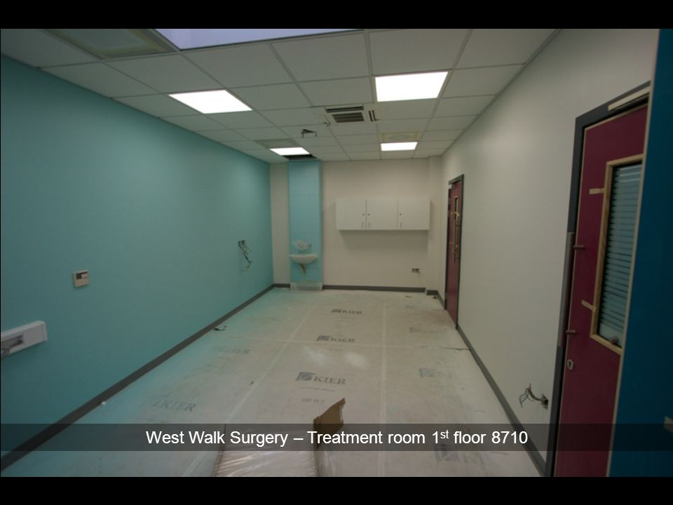 West Walk Surgery – Treatment room 1st floor 8710
