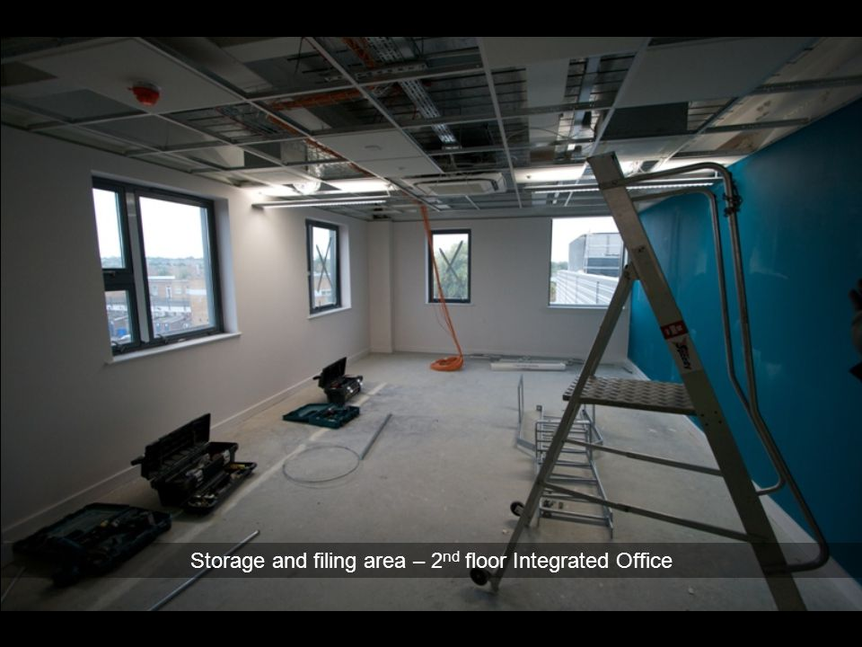 Storage and filing area – 2nd floor Integrated Office