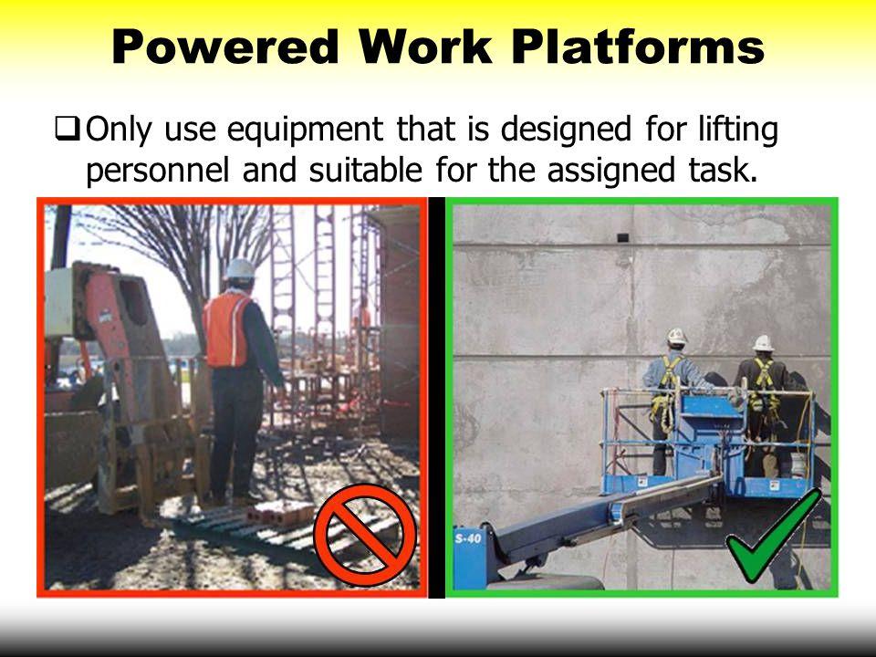 Powered Work Platforms