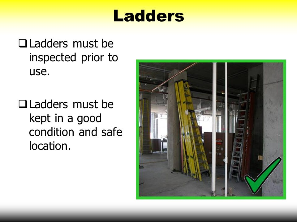Big four construction hazards fall hazards ppt download for How to find a good builder in your area