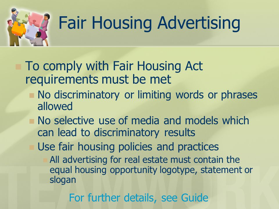 Fair Housing Advertising