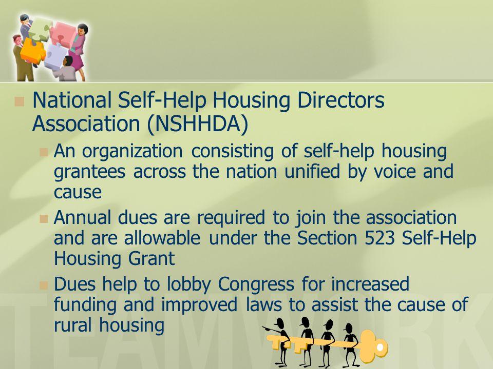 National Self-Help Housing Directors Association (NSHHDA)