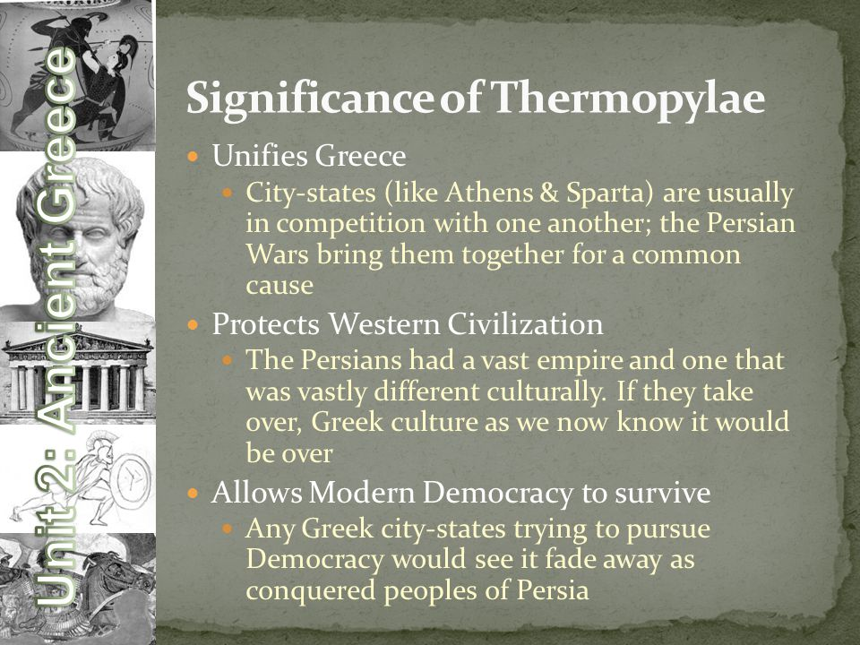 Significance of Thermopylae